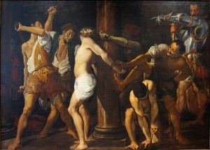 Douai_chartreuse_carracci_flagellation