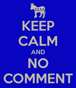 keep-calm-and-no-comment-silence