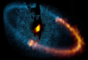 National Radio Astronomy Observatory ALMA Antennae Image