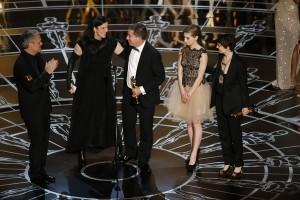 La remise de l'oscar du documentaire à Laura Poitras et Glenn Greenwald (qui a eu le Pulitzer aussi)