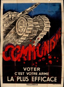 Séduire les abstentionnistes, version anti communiste