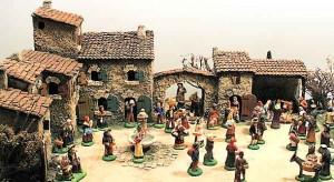La crèche de Noël avec les santons Carbonel