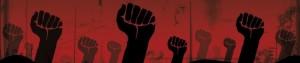 Lever le poing révolution