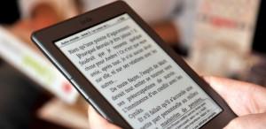 Liseuse Cybook Odyssey, livre electronique developpe par Virgin en partenariat avec la societe francaise Booken