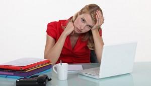 Manque de motivation, dormir au bureau