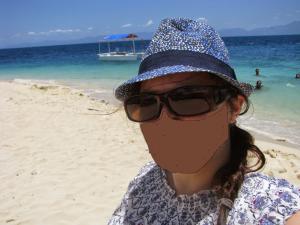Moi je pars toute seule aux Philippines et je me selfise sur la plage