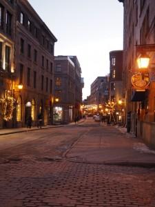 hiver canadien à Montréal : y a pas de neige