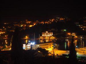 Et la vue de la terrasse notre AirBnB à Dubrovnik