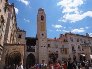 dubrovnik_croatie-clocher