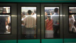 métro foule