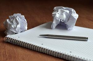 Panne d'écriture