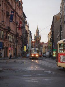 prague-tramway