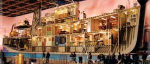 Le bateau de la vie aquatique de Wes Anderson