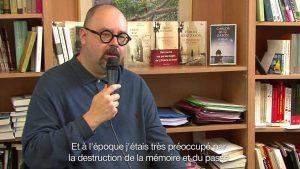 Carlos Luis Zafon en interview à la FNAC