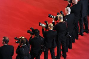 Photographes sur le tapis rouge de Cannes