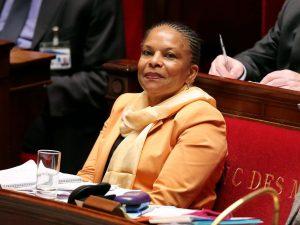 Christiane Taubira à l'assemblée nationale