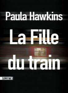 Couverture la fille du train de Paula Hawkins