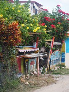 Une maison sur l'île des Saintes en Guadeloupe