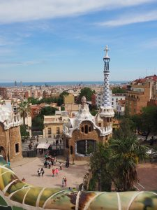 Park Guell à Barcelone