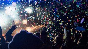 bilan 2016 positif, fête et cotillons