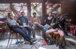 Dead Landes saison 1, Agathe, Sam, Michel, Natalia et Clovis