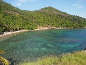 Guadeloupe, plage des Saintes
