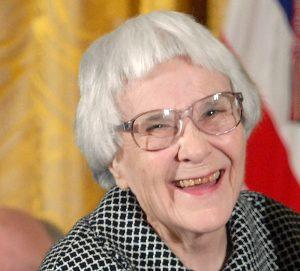 Harper Lee lors de sa remise de la médaille d'honneur