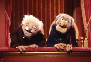 Les deux vieux du Muppet show