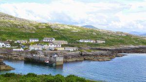 Village de pêcheurs en Irlande