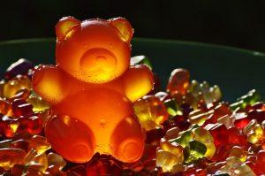 Bonbon ourson en gélatine géant