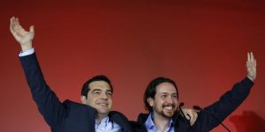 La gauche en Europe : Alexis Tsipras et Pablo Iglesias