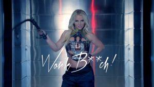 Britney Spears dans le clip Work bitch