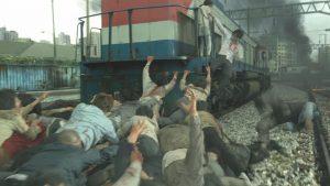 Les zombies dans Dernier train pour Busan