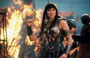Lucy Lawless dans Xena