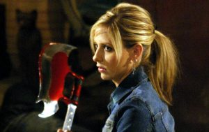 Sarah Michelle Gellar dans Buffy