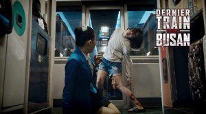 Attaque de zombie dans dernier train pour Busan