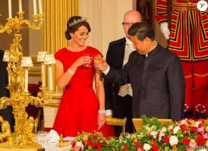 Kate Middleton et le président chinois