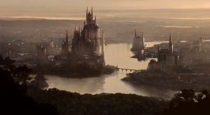 Art work de King's Landing par Charles Lee