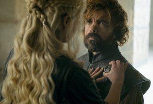 Daenerys et Tyrion, héros d'une saga bavarde
