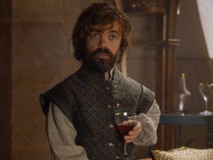 Activité n°1 de Tyrion : parler en buvant du vin