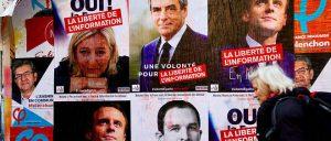 Affiche pour le second tour des élections présidentielles