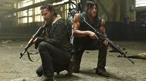 The walking Dead : Daryl et Rick