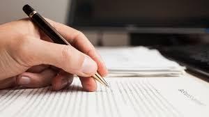 écrire sur des documents