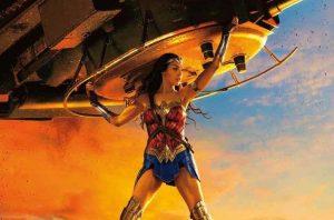 Wonder woman jette un tank - effets spéciaux