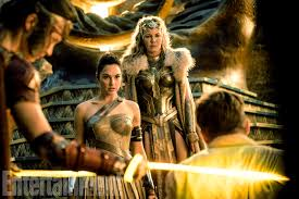 Wonder Woman rencontre Steve trevor