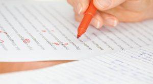 Corriger un manuscrit