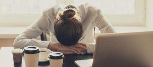 Mauvais rythme de vie, fatigue au travail
