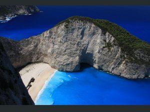La baie du naufrage, Grèce