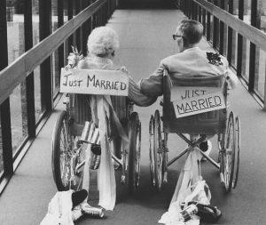 Mariage de vieux