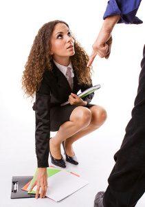 Femme humiliée